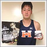 香山勇輝選手