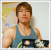 田中稔選手手